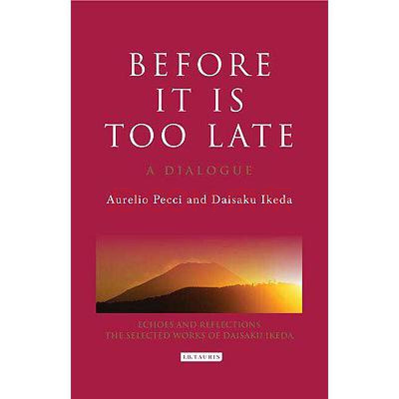 before it is too late: a dialogue
