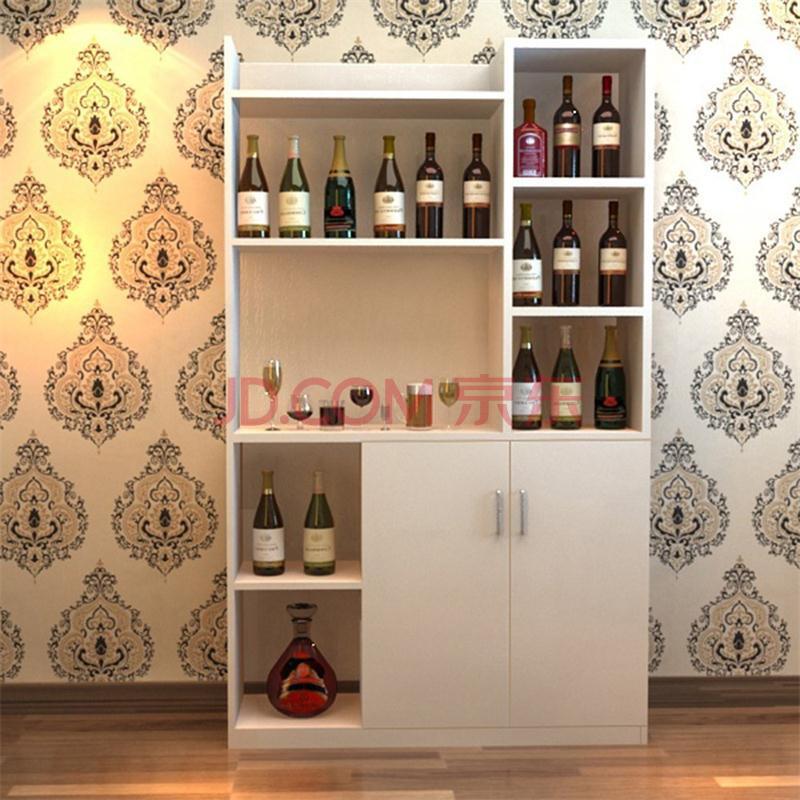 【法罗纳】现代简约餐厅家具板式柜宜家款酒柜餐边柜橱柜现生产可订制图片