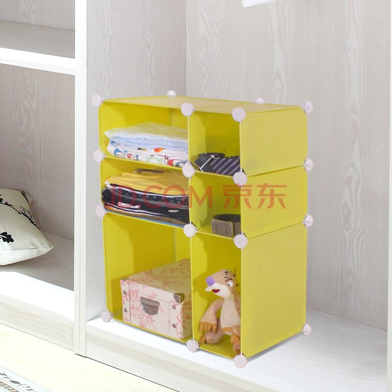 百变易家化妆品衣物杂物收纳架宿舍diy床头置物架
