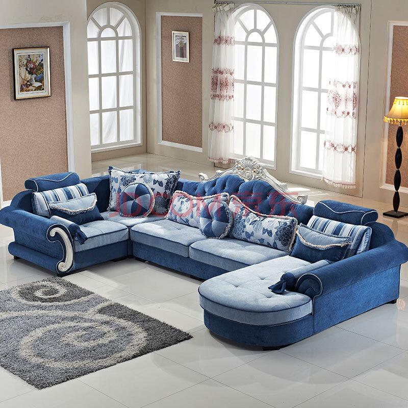 欧式沙发 欧式布艺沙发
