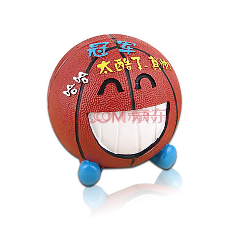 篮球存钱罐 储蓄罐 创意可爱实用家居装饰树脂工艺品摆件 礼品 开心款