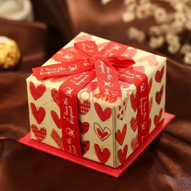 结婚喜糖盒子韩式蛋糕创意费列罗精品糖盒结婚用品糖果喜糖盒纸盒