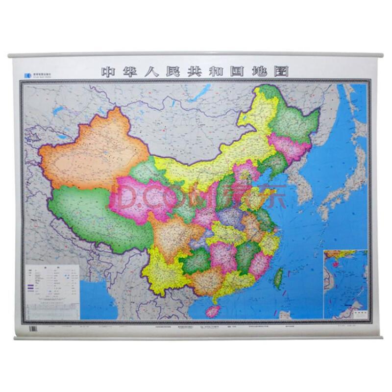 2015年 中国地图挂图 1.6mx1