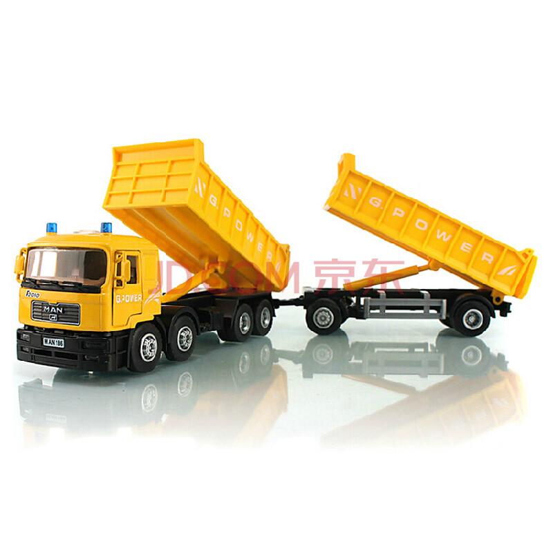 儿童玩具 1:40 卡车货车运输车