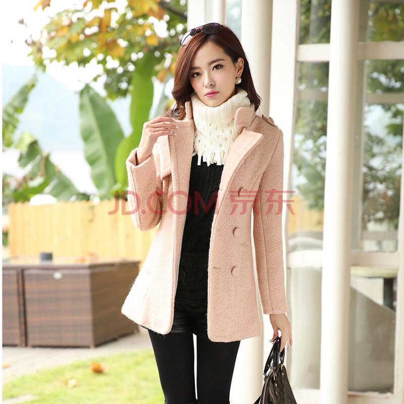凯撒18 秋冬季新款韩版女装外套呢子大衣风衣淑女时尚