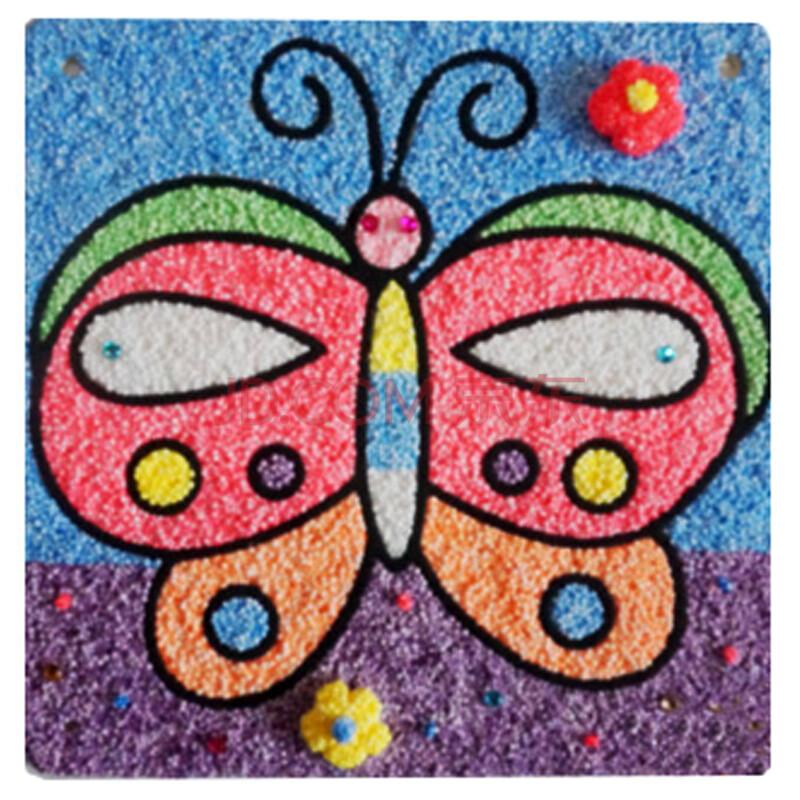 蝴蝶 粘土步骤图