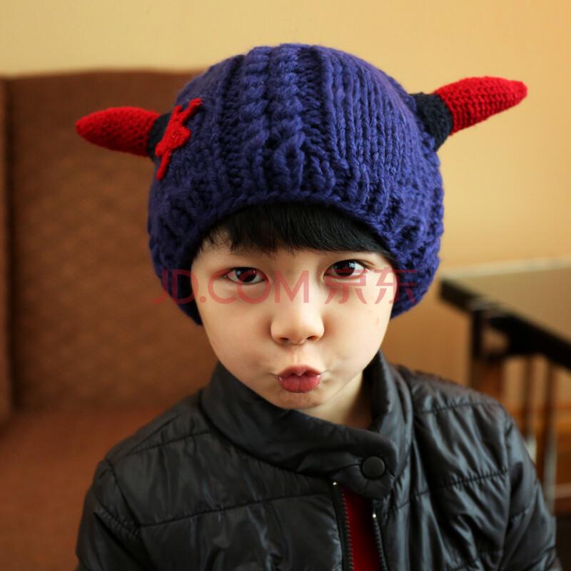 儿童帽子 秋冬款 男童女童宝宝4-8岁