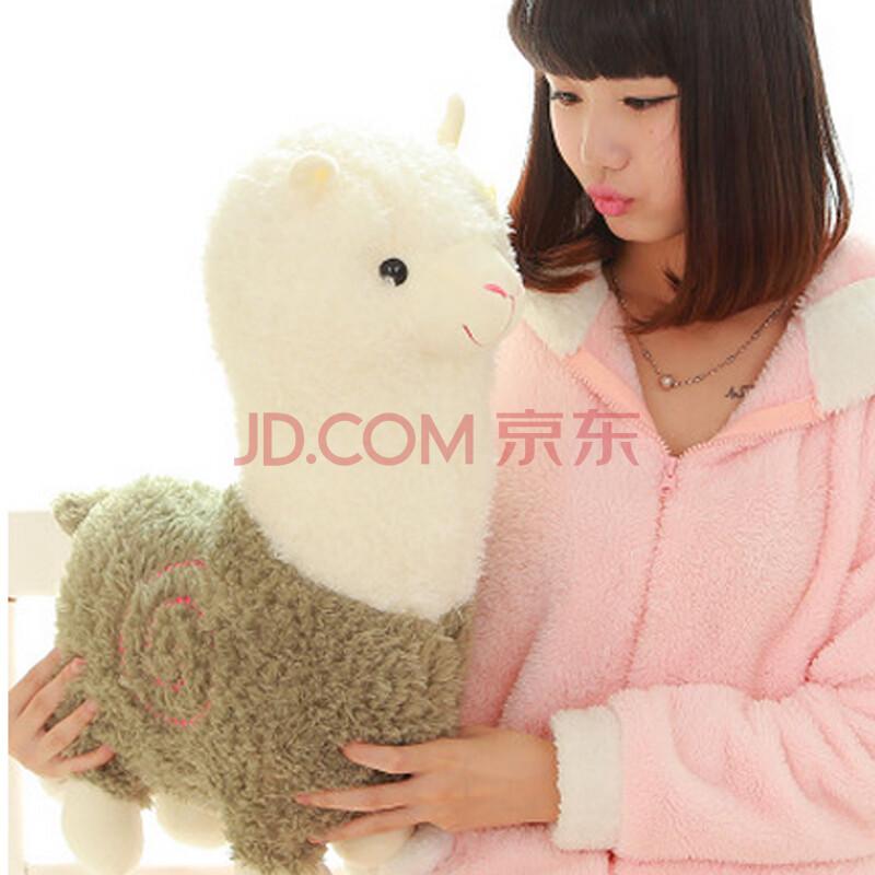 hardaway羊驼抱枕公仔毛绒玩具生肖吉祥婚庆羊年积木摩天轮乐高大娃娃图片