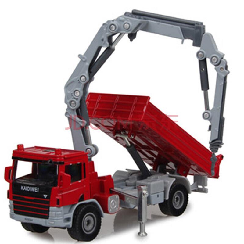 车儿童玩具挖土机挖掘机建筑车吊车消防车汽车模型