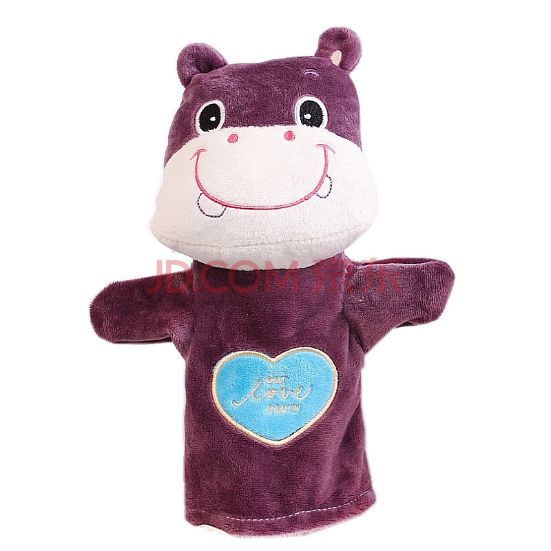 欣庭手偶毛绒玩具 女孩和小动物手套玩偶 讲故事好帮手小朋友的礼物