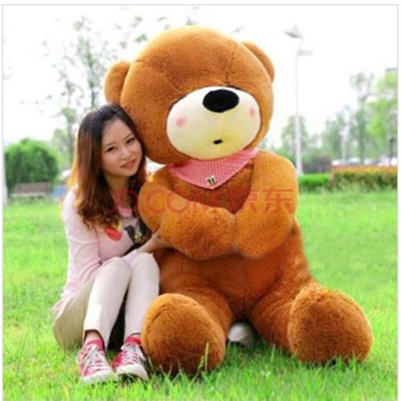 【喜悠悠】可爱布娃娃超大号泰迪熊毛绒公仔玩具瞌睡