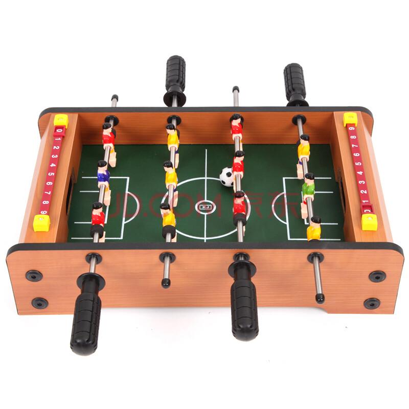 翔竣桌上足球儿童台式玩具亲子桌上游戏桌面足球机 4杆 小号足球台图片