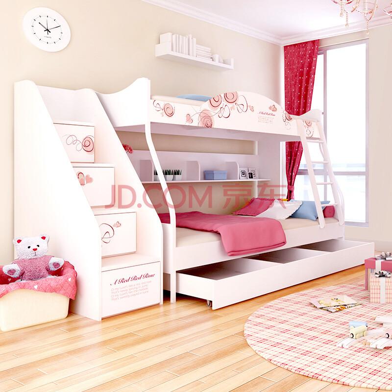 儿童床双层床 上下床高低床