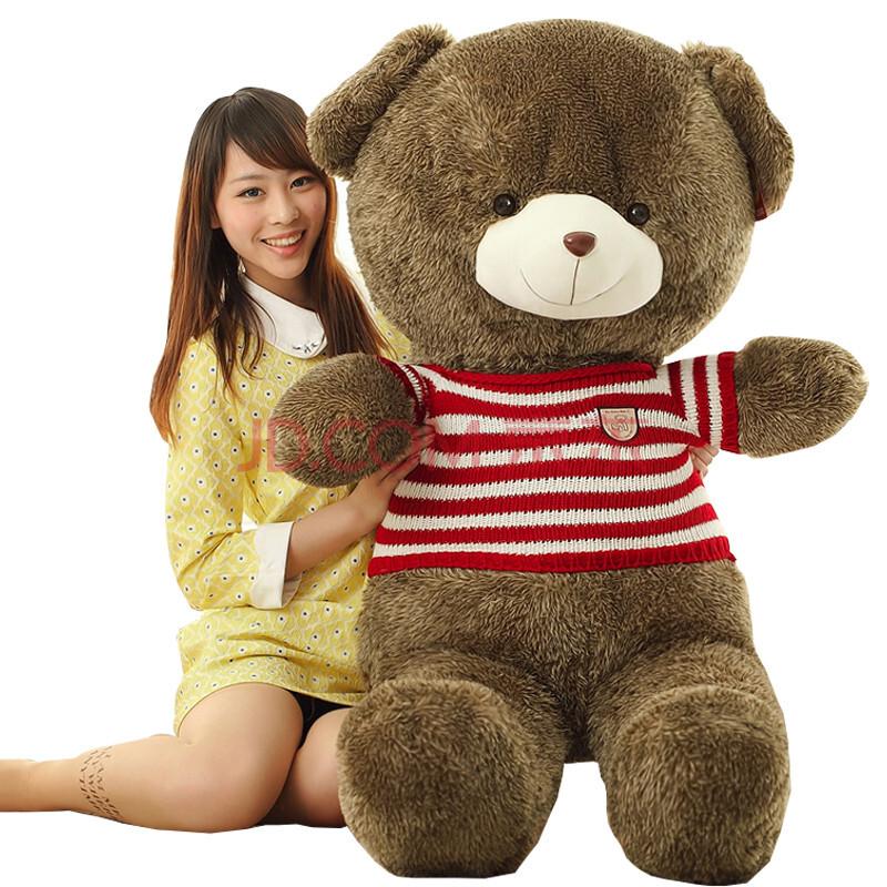 【喜悠悠】大号1.8米2情人节情侣结婚新年生日礼物熊.