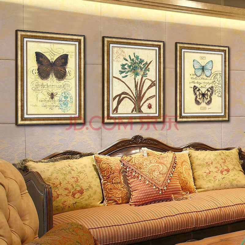 欧式装饰画客厅沙发背景墙画