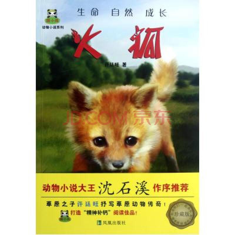 火狐(珍藏版)/倔小孩动物小说系列 许廷旺 正版书籍 少儿