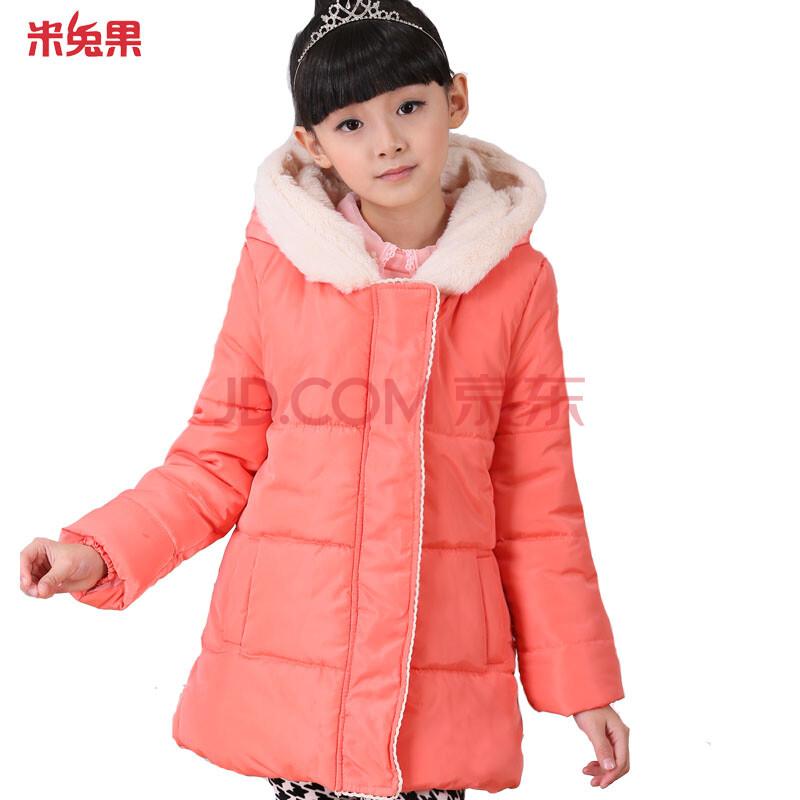 女大童风衣大衣新款 粉红色