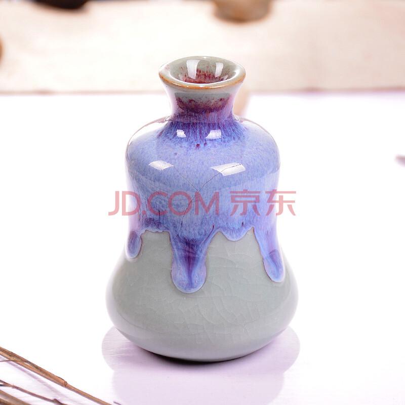 创意精致小花器花瓶盆手绘本陶瓷纯手工个性制作礼品