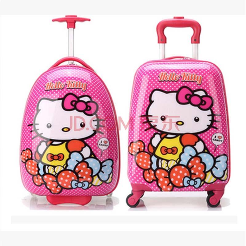 儿童拉杆箱宝宝旅行箱卡通万向轮可爱行李箱小孩小拉