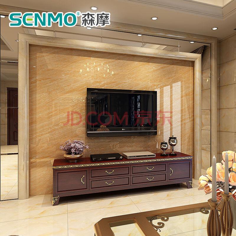 简欧风格微晶石电视 背景墙 效果图 1 9 怎么选购微晶石电视 背景墙