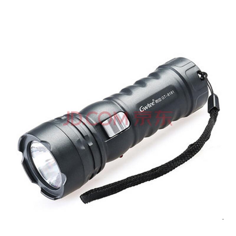 强光手电 可充电铅酸蓄电池电筒 户外装备led远射照明图片