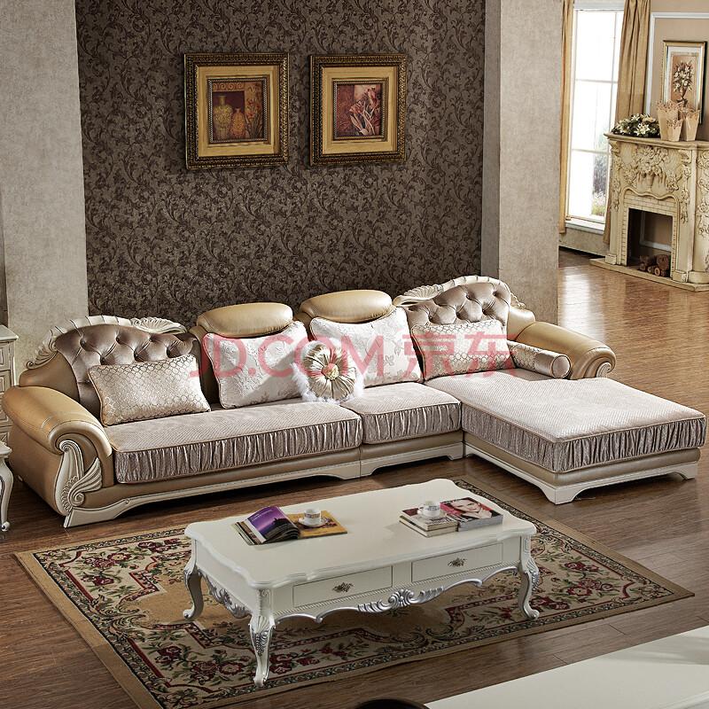 意米卡新古典欧式布艺沙发