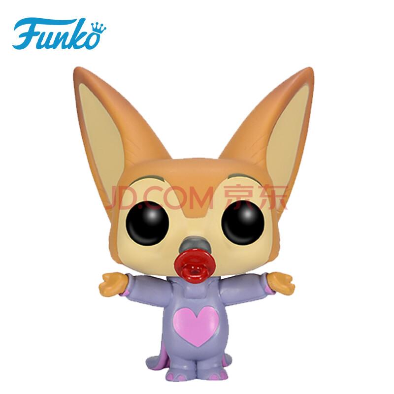 【动漫城】funko pop 迪士尼 疯狂动物城 芬尼克耳廓狐 人偶公仔模型