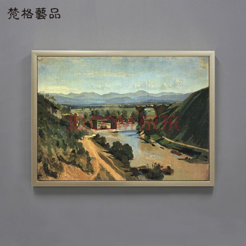 梵格 欧式客厅装饰画美式挂画风景画玄关壁画沙发背景