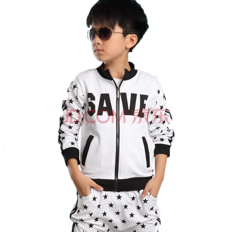 男童运动套装 儿童宝宝春秋装三件套