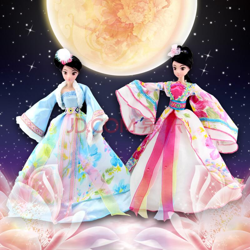 娇儿古代四大美女 古典人物古装娃娃古代公主娃娃-公主嫁到 古装美人