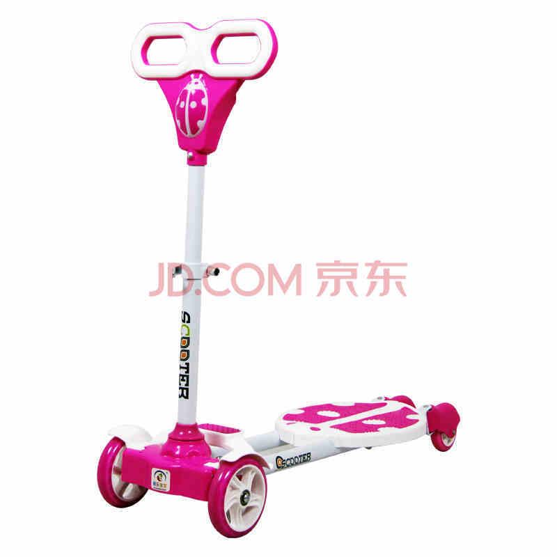 双脚滑板车儿童三轮四轮剪刀蛙式摇摆车双刹滑行车