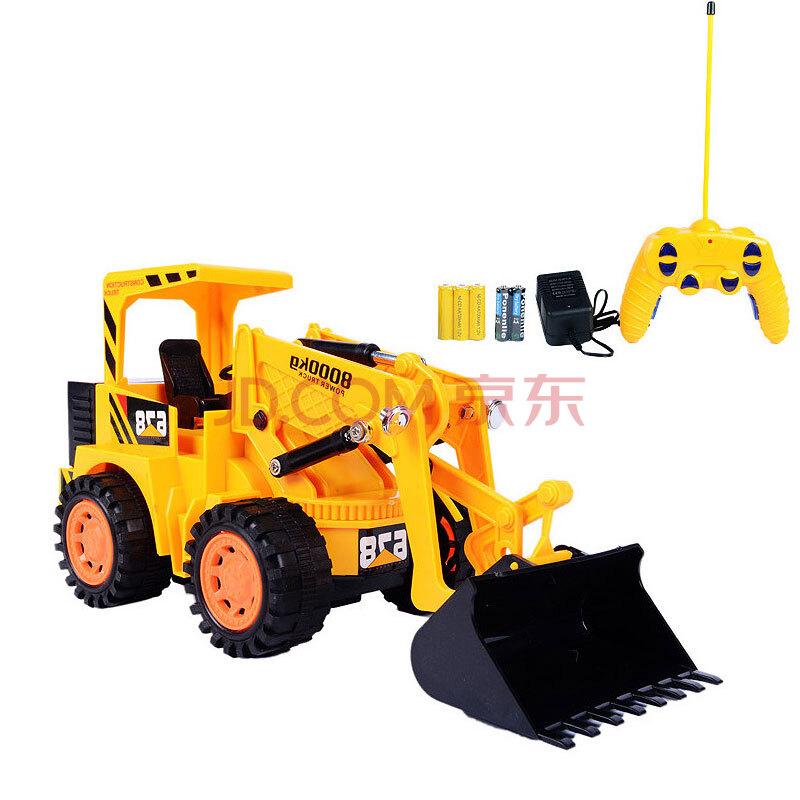 无线遥控挖掘机玩具车可坐可骑玩
