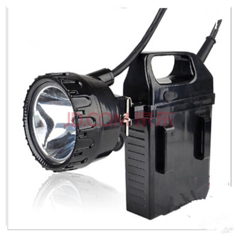 led分离式头灯探照灯户外作业头灯带电瓶节能防水续航图片