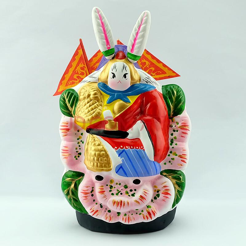 北京礼物 兔爷摆件北京传统老玩具特色礼品图片
