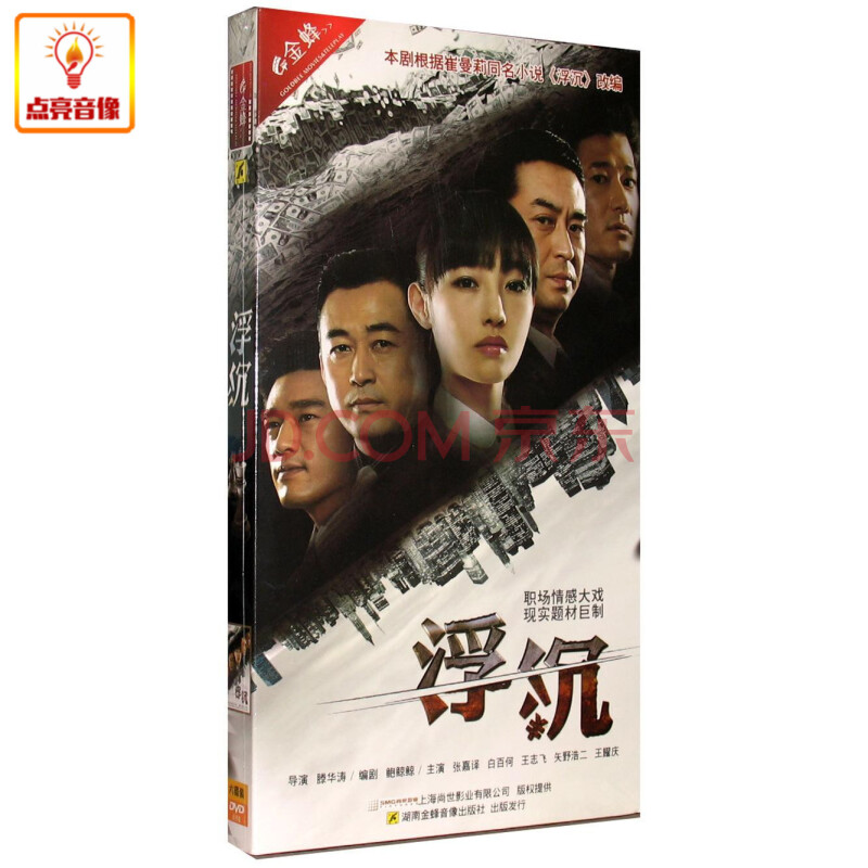浮沉_电视剧 浮沉(6dvd) 经济版 张嘉译 白百何 王志飞 现货