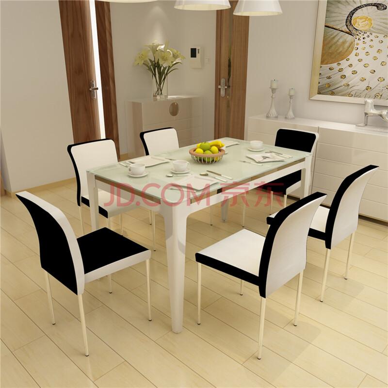 钢化玻璃餐桌餐台