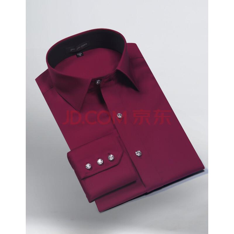 浅粉红衬衫,酒红色外套配什么领带呢