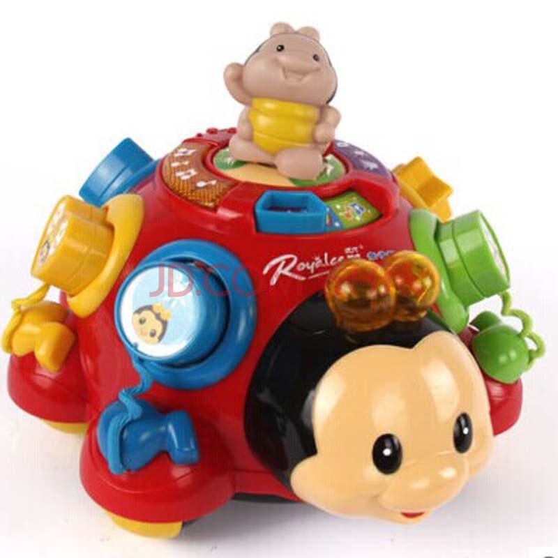 儿童益智玩具1-3岁奇趣欢乐瓢虫宝宝声光益智儿童