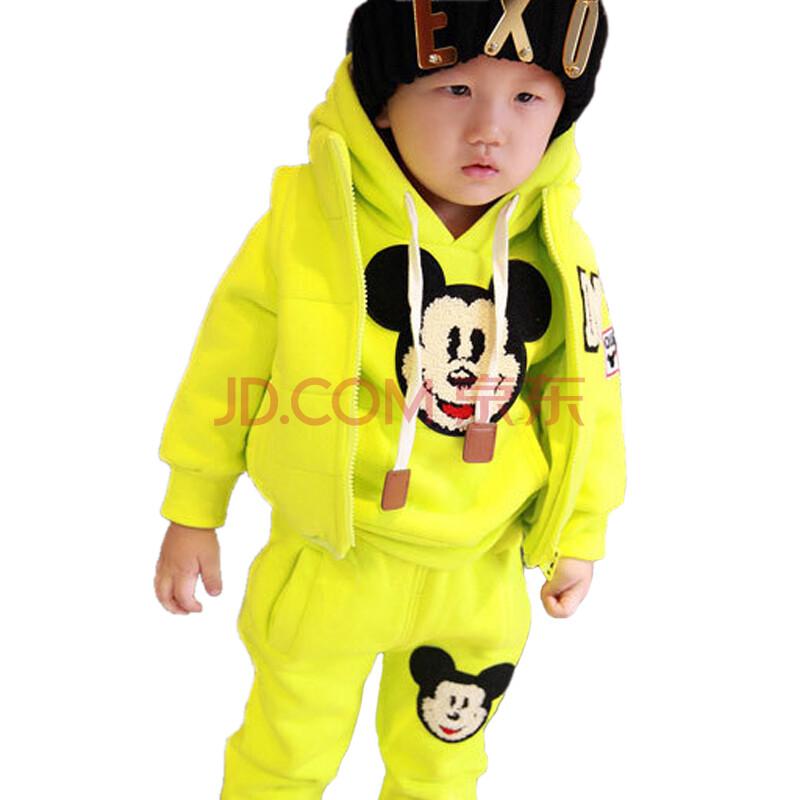 01234岁婴幼儿童冬季三件套装