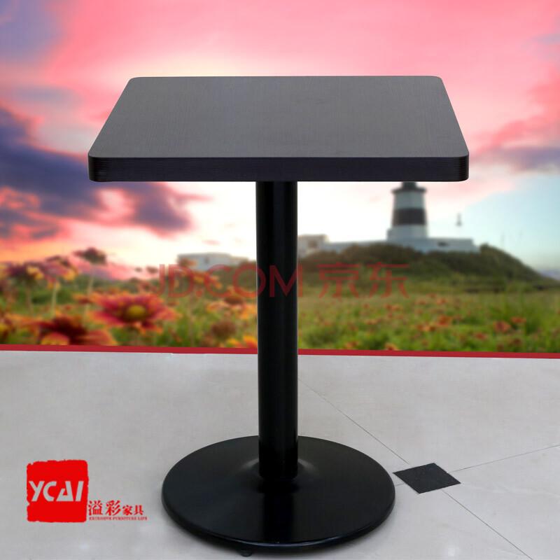 厅西餐厅桌椅方桌咖啡桌茶餐厅奶茶店桌椅多色 4cm厚 (60直径圆台)