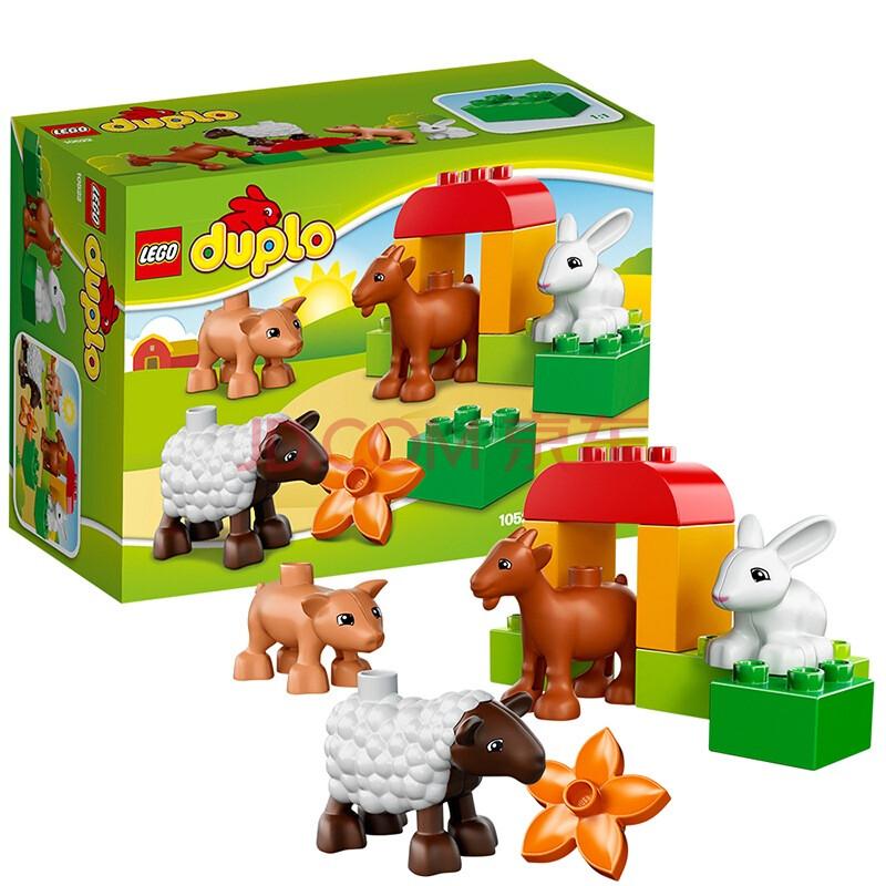 lego 乐高 duplo 得宝系列 农场小动物 10522