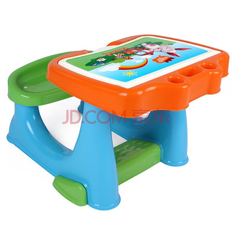 儿童学习桌子椅子桌椅成套画画板小孩吃饭桌餐椅一体