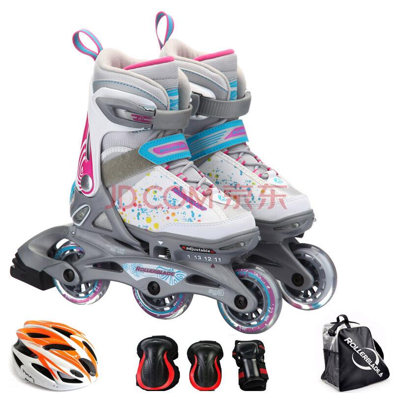 罗勒布雷德rollerblade进口 闪光灯儿童男女旱冰鞋 溜冰鞋rb flas轮滑