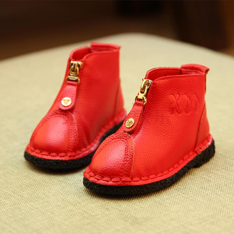 儿童韩版棉靴 宝宝冬靴子