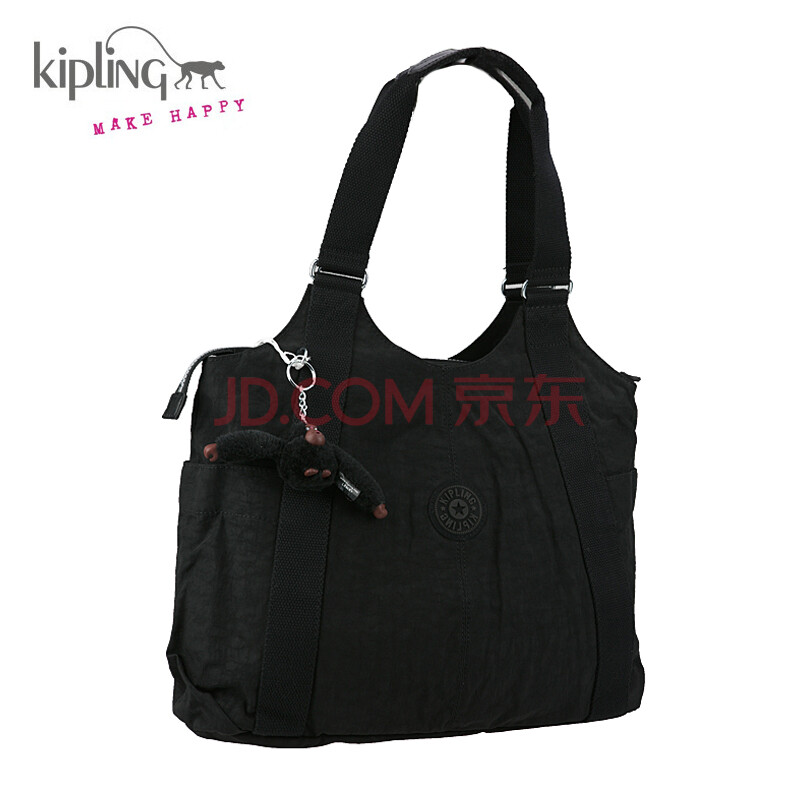 kipling吉普林/凯浦林 经典实用手提包 猴子吊饰便携实用单肩包背提包