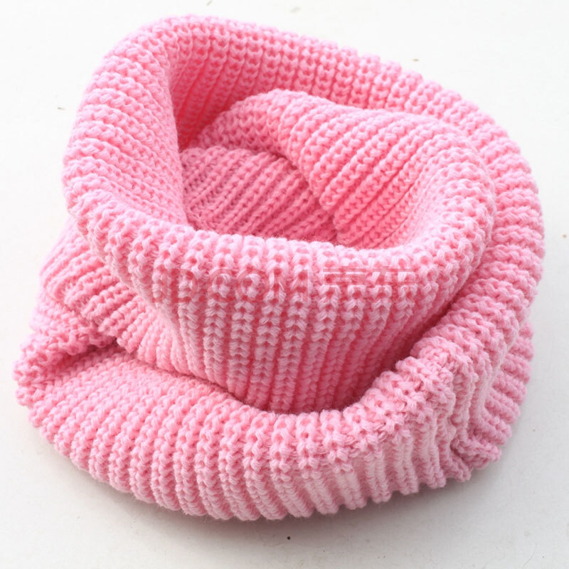 男女儿童围巾针织毛线男童脖套女童围脖保暖冬天两圈亲子套头宝宝围巾