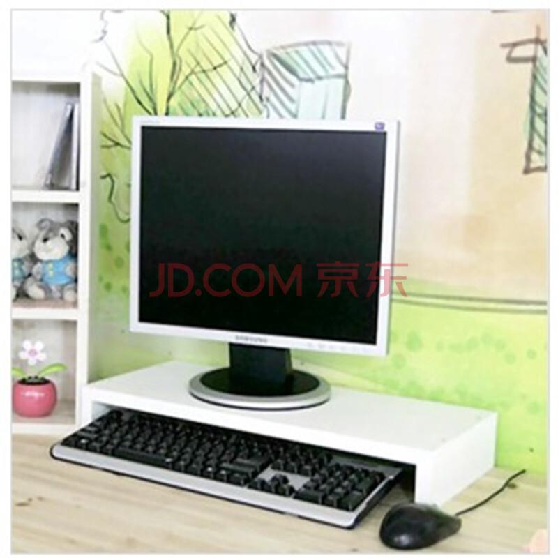 【睿岚】台式电脑桌上显示器架增高架子桌面键盘隐藏图片