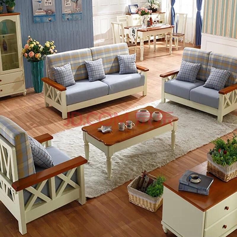 客厅木头沙发图片大全