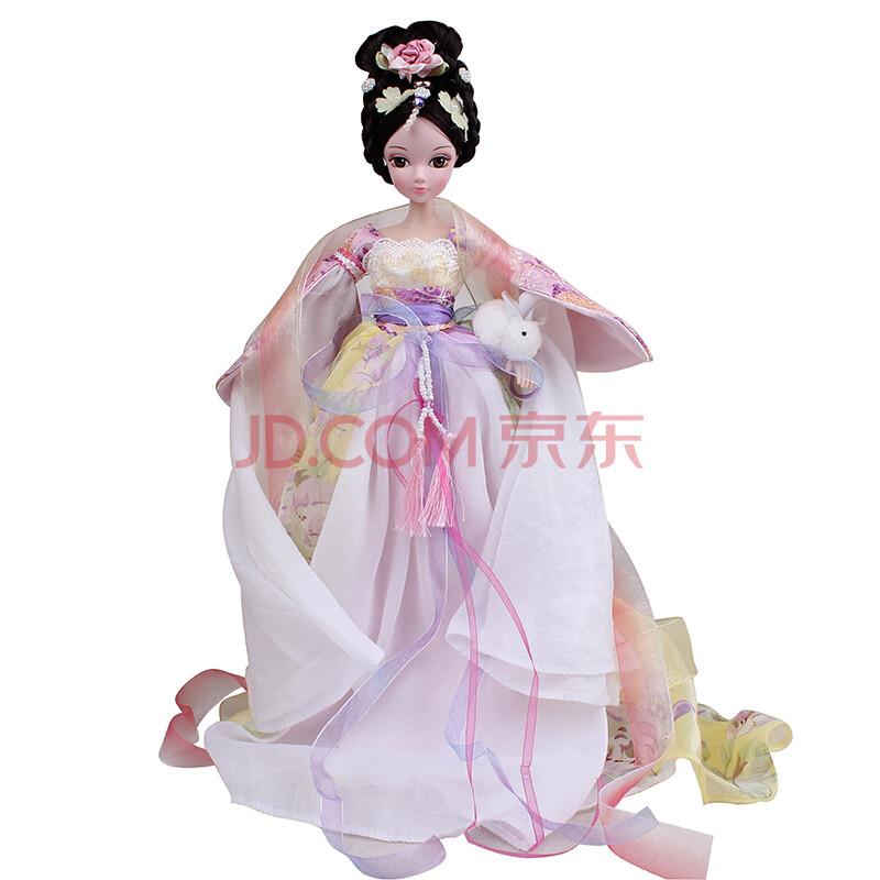 芭比娃娃中国古装新四季仙子巴芘系列套装