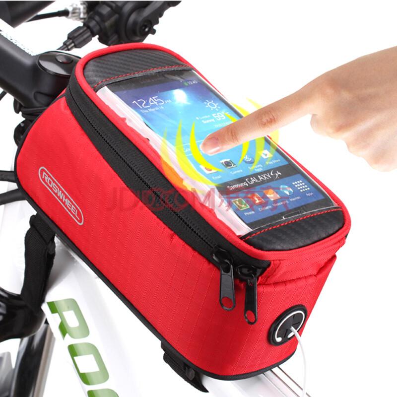 乐炫roswheel手机触屏车包自行车包车前包上管包马鞍包骑行包山地车网优群二手设备图片